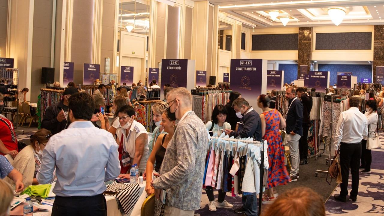 6 ülkeden kumaş ve tekstil ithalatçısı 350 firma İstanbul'a geldi