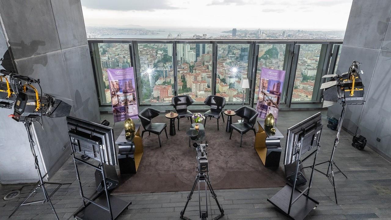 """Açık hava stüdyosu """"Studio Sky"""" hizmete girdi"""