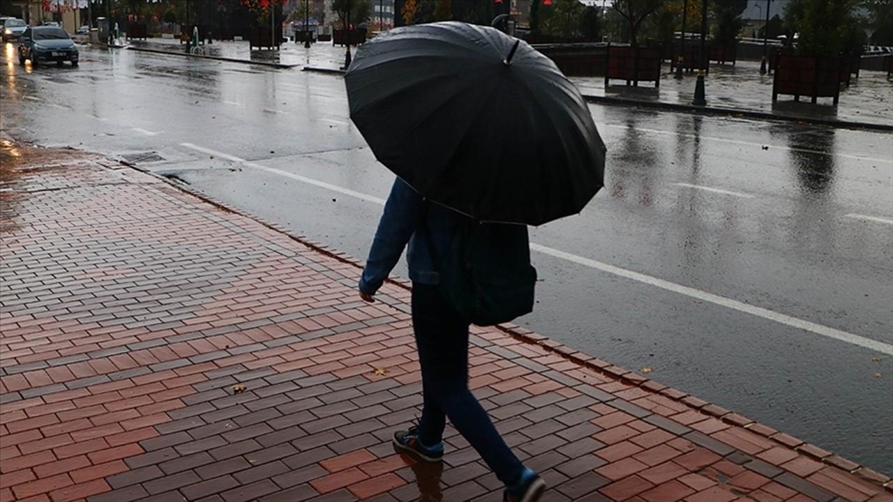 Ankara'da kuvvetli yağış uyarısı