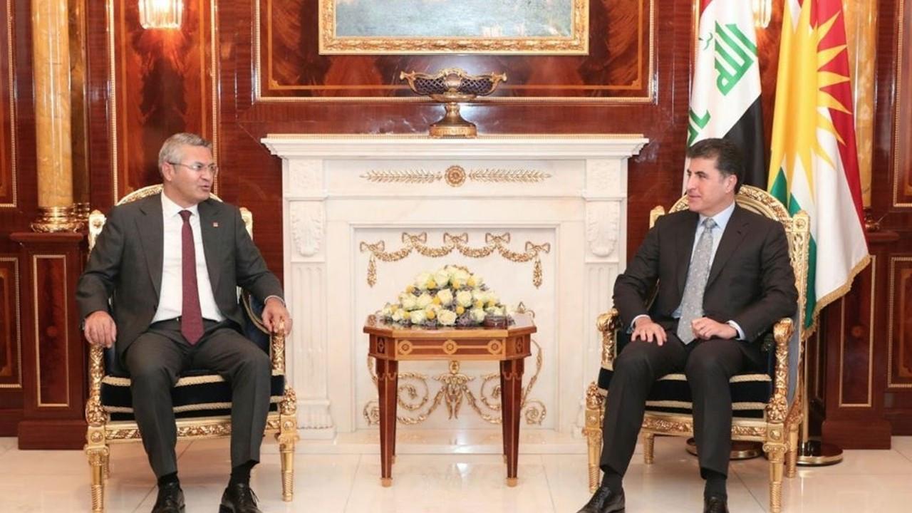 CHP heyeti, IKBY Başkanı Barzani ile görüştü