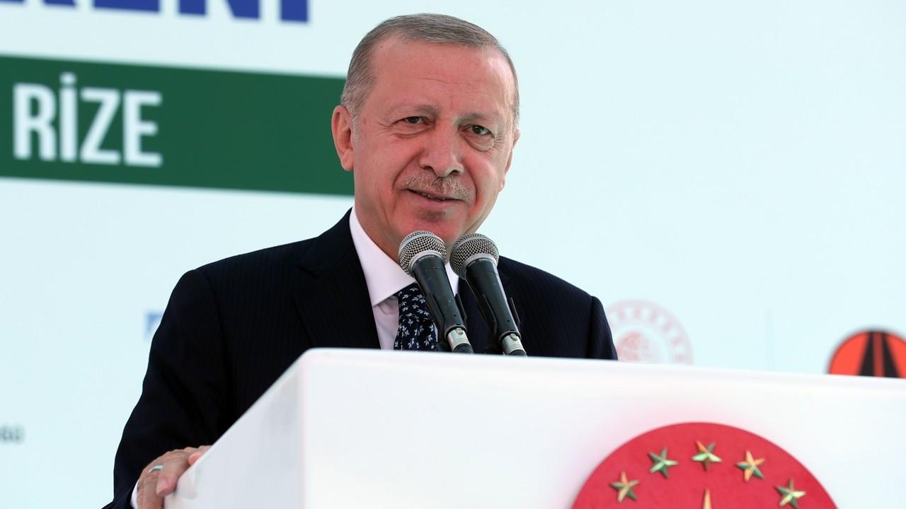 Cumhurbaşkanı Erdoğan: Salarha Tüneli Rize'nin 70 yıllık hayali