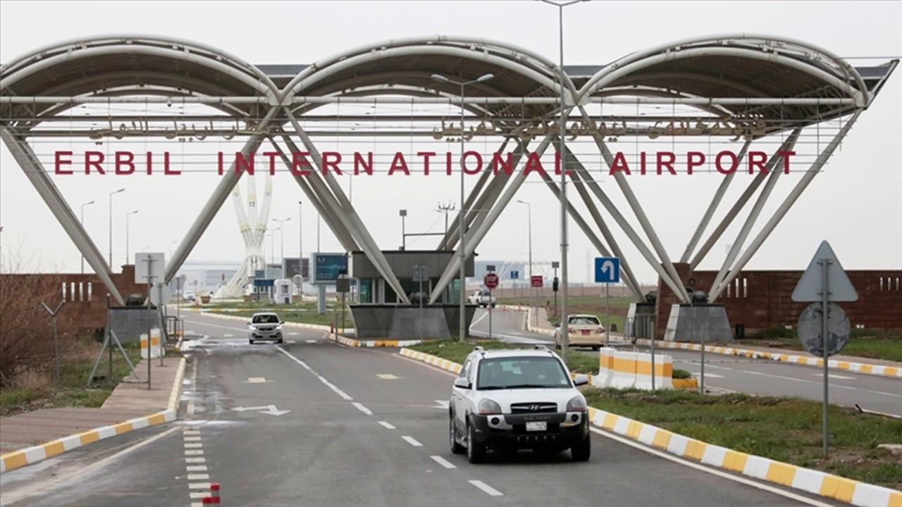 Erbil Uluslararası Havalimanı'na İHA ile saldırı