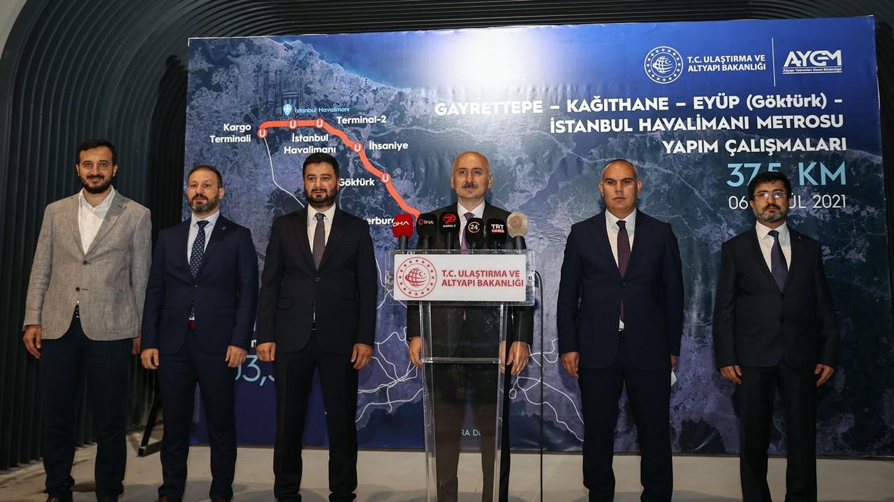Gayrettepe-İstanbul Havalimanı metro hattı için tarih belli oldu