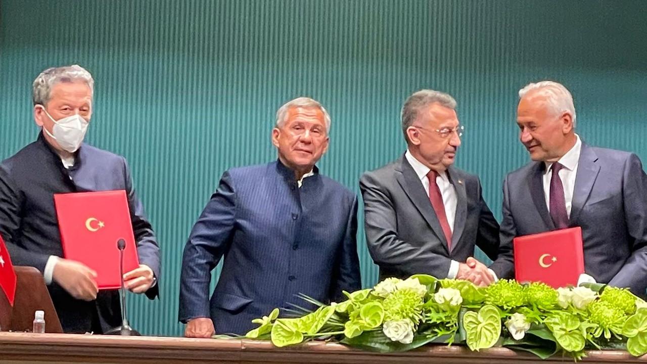 GEBKİM'e maleik anhidrit yatırımı için imzalar atıldı