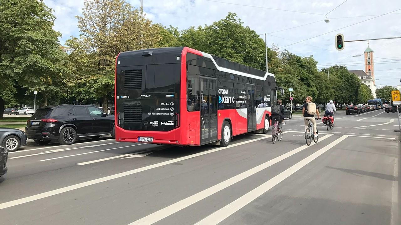 Otokar'ın elektrikli otobüsü Münih'te görücüye çıktı