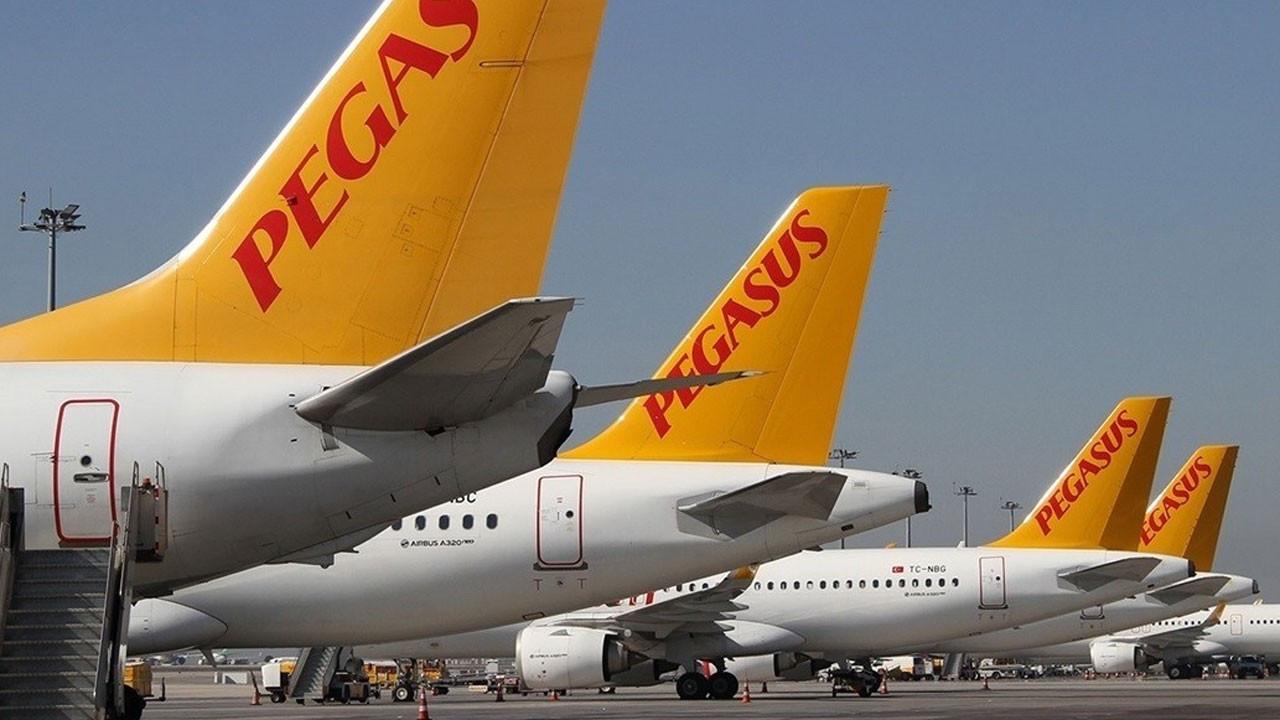 Pegasus'un yolcu sayısı yüzde 33 geriledi
