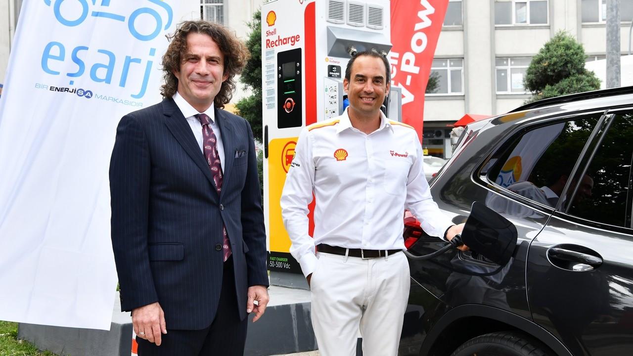 Shell, Enerjisa işbirliğiyle şarj istasyonları kuruyor