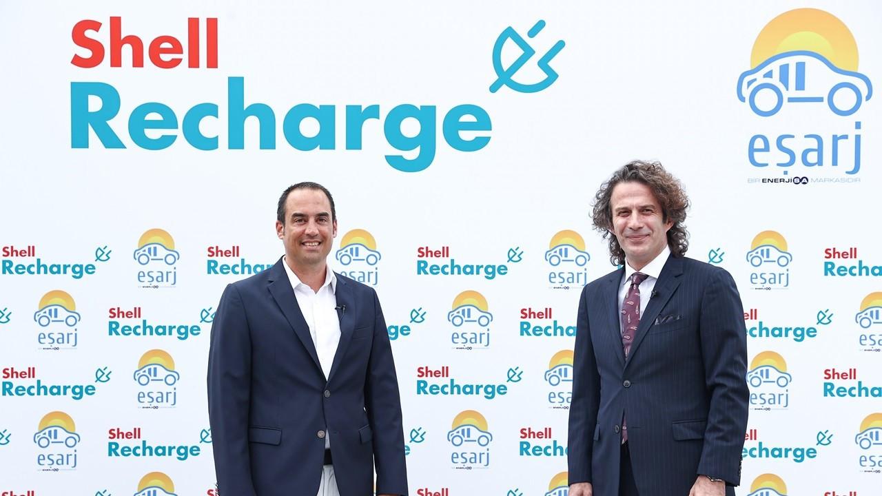 Shell Recharge ve Eşarj arasında yeni iş birliği anlaşması