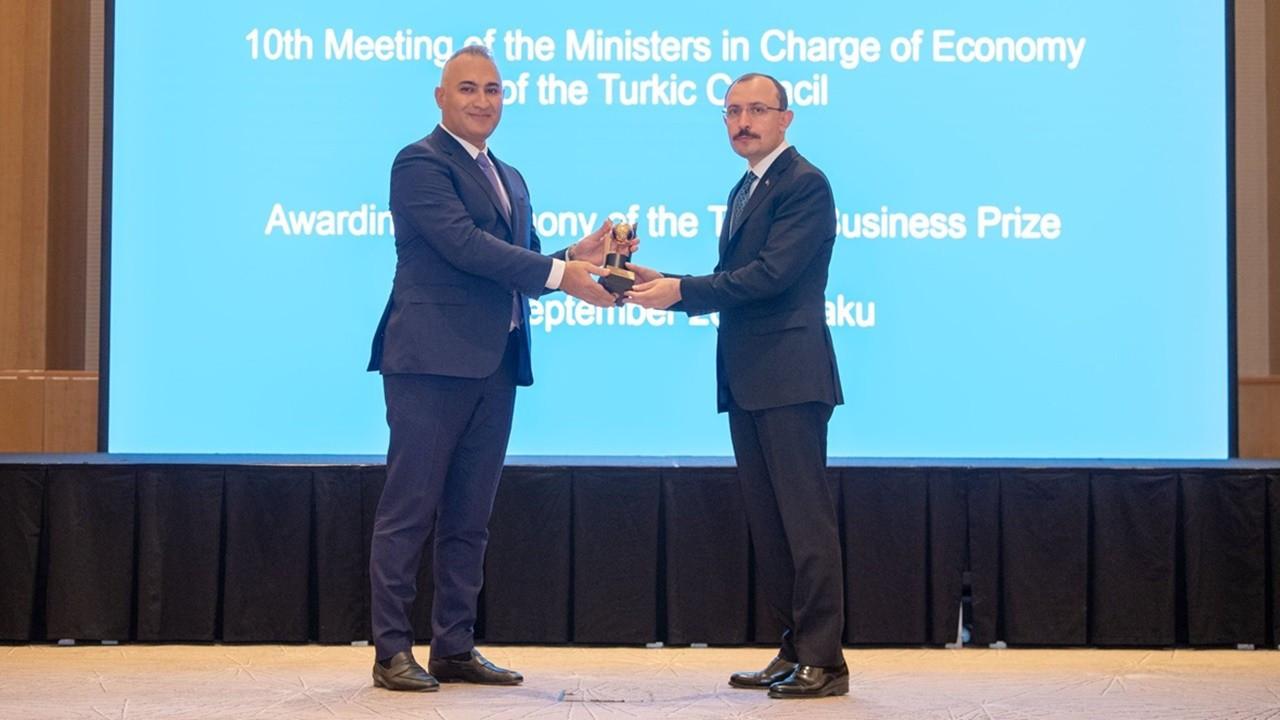 SOCAR Türkiye'ye 'Türk Konseyi Yatırım Ödülü'