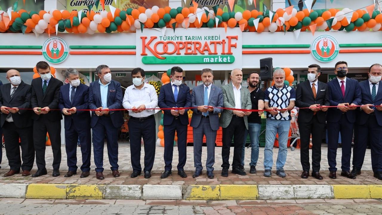 Tarım Kredi Kooperatif Market, 400'üncü şubesini açtı
