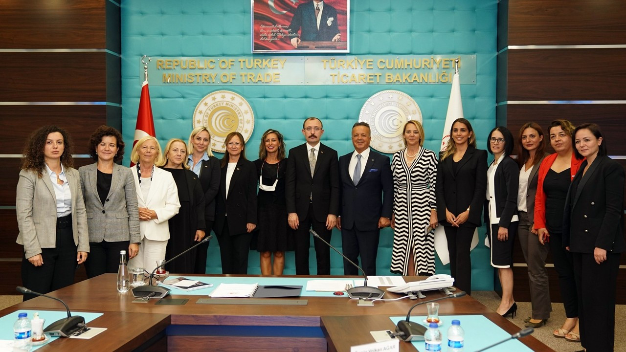 TİM Kadın Konseyi'nden Bakan Muş'a ziyaret