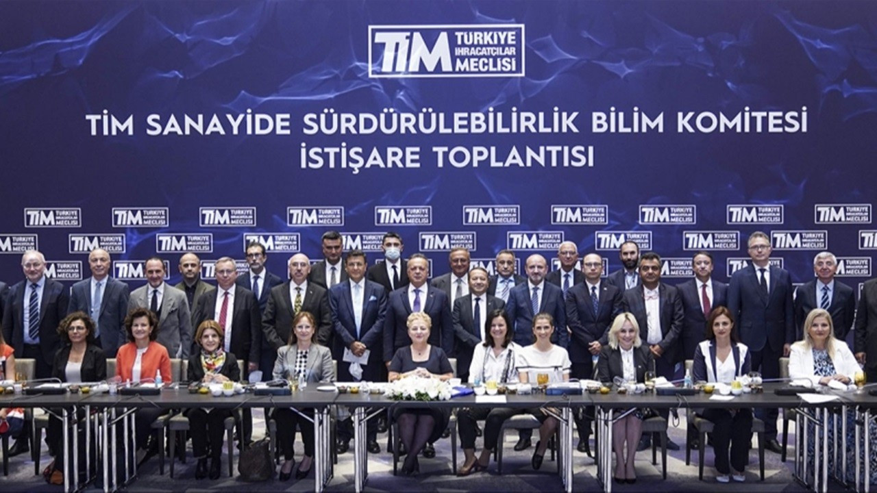 TİM Sanayide Sürdürülebilirlik Bilim Komitesi kuruldu