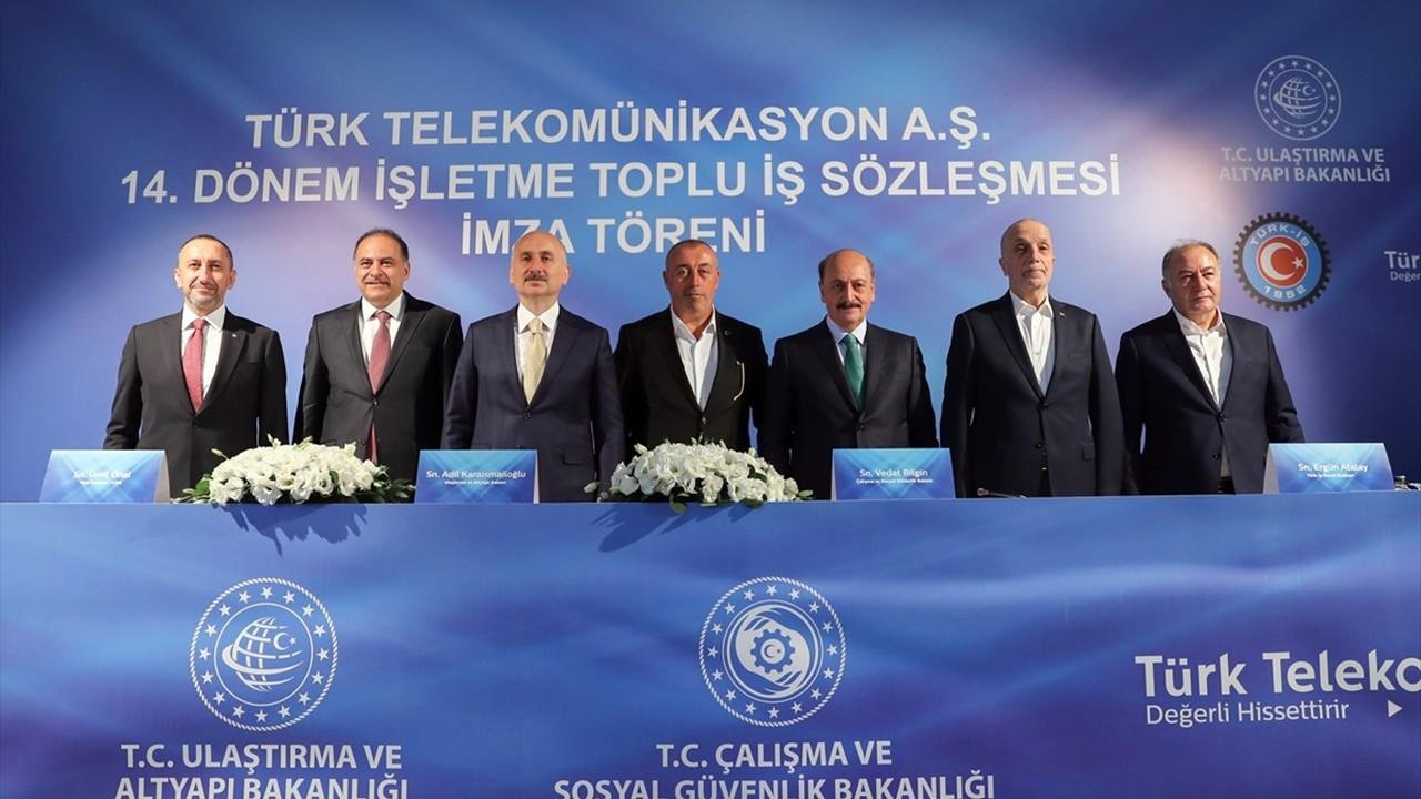 Türk Telekom ile Haber-İş el sıkıştı: En düşük ücret 4 bin 200 lira oldu