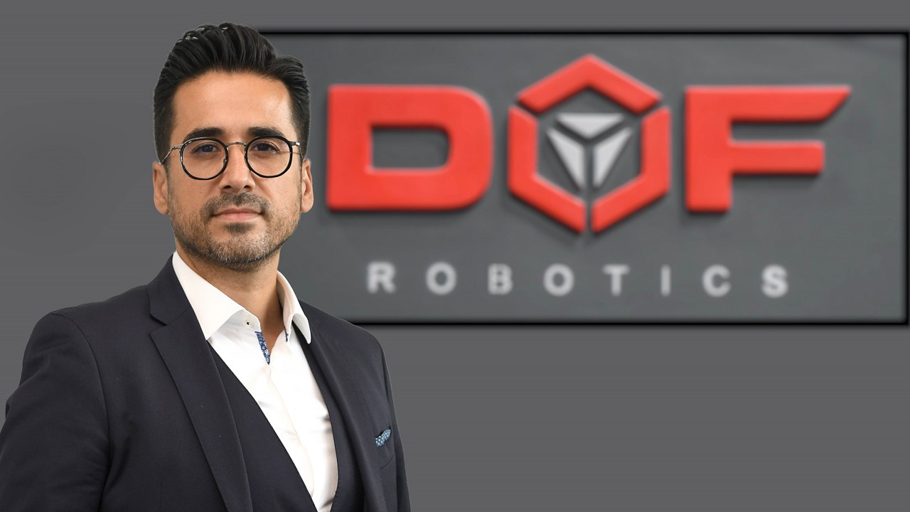 Türkiye'den çıkan dünya markası: DOF Robotics