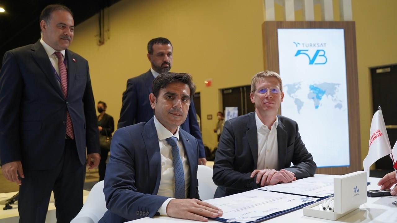 Türksat 5B uydusu için ilk anlaşma imzalandı