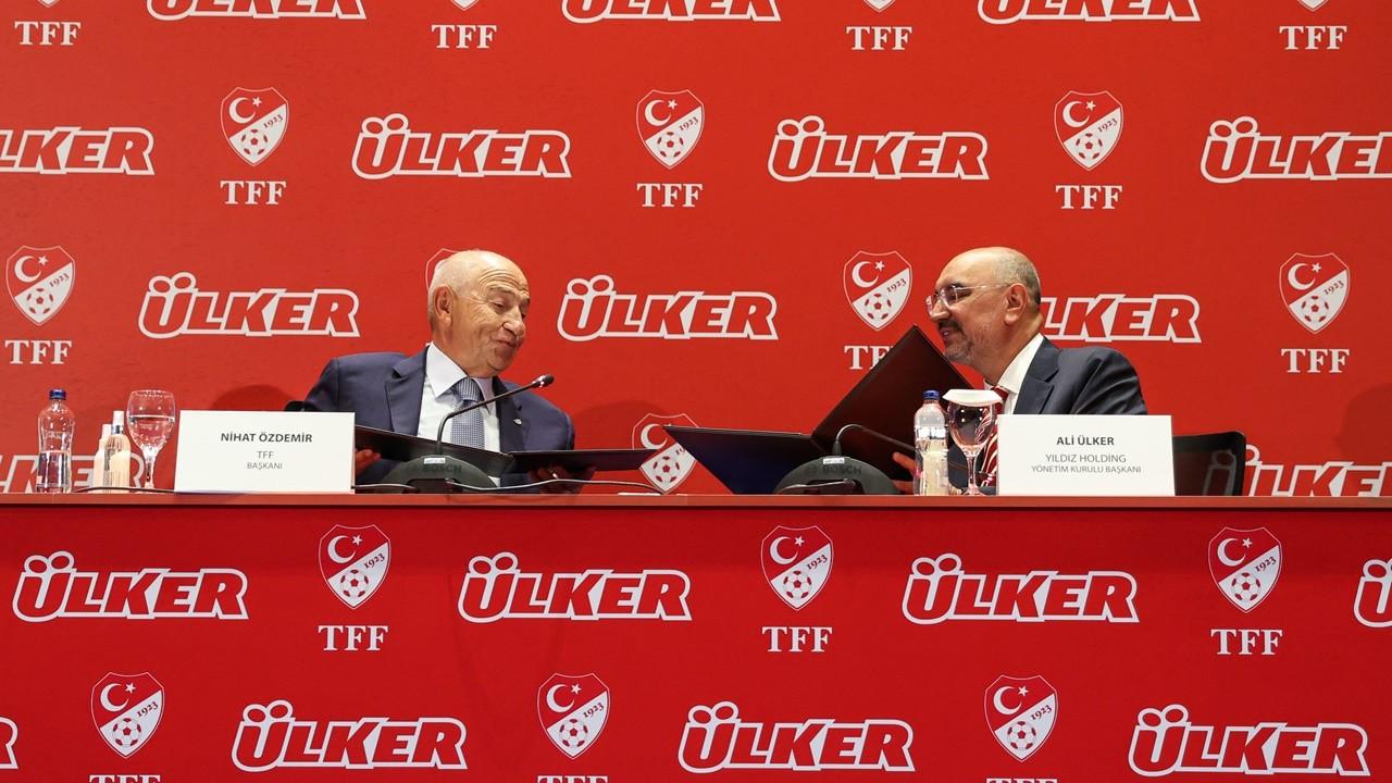 Ülker ile TFF arasında yeni sponsorluk anlaşması