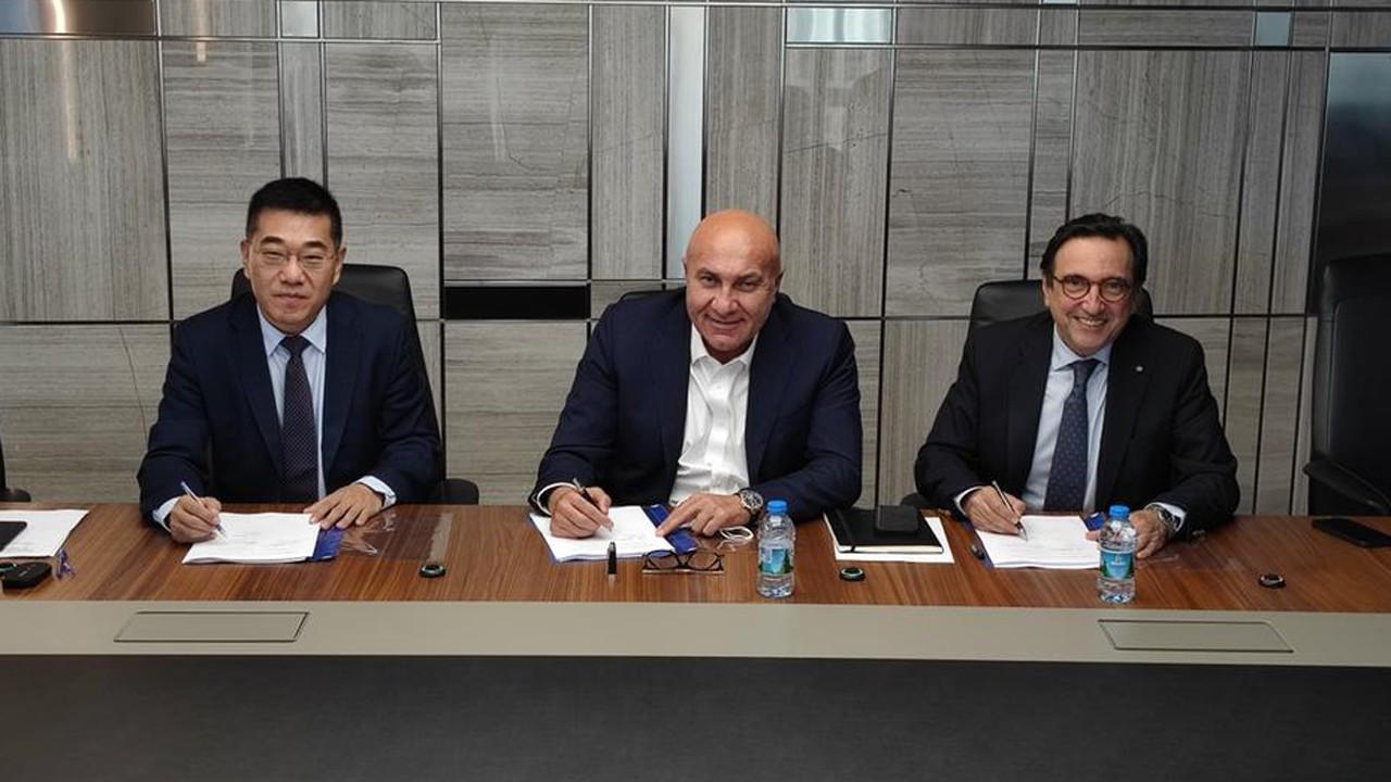 Yıldırım Holding, Kazakistan'daki fabrika için imzayı attı